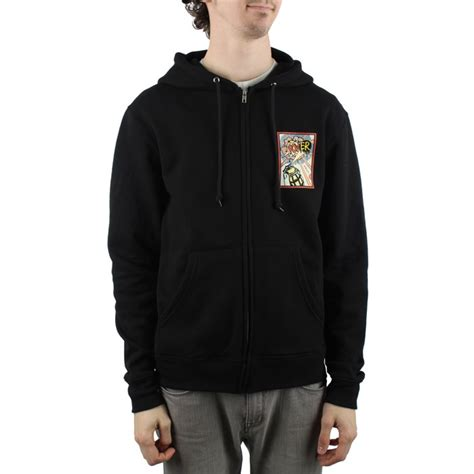 Jaket Baju Hangat Zipper Switer Hoodie Obey obey clothing obey power zip hoodie evo outlet