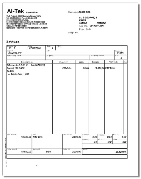 commission invoice template download transportation