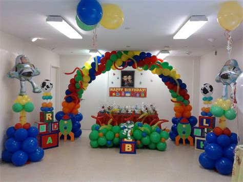 decoration story theme birthday decorating ideas for