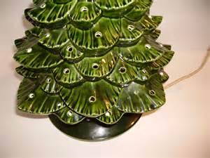 ceramic tree base with light vintage arnels large ceramic tree with lights