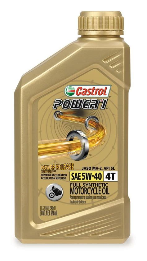 castrol power 1 synthetic 4t engine 8 1 33 revzilla