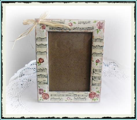 Decoupage Picture Frame - decoupage photo frame decoupage