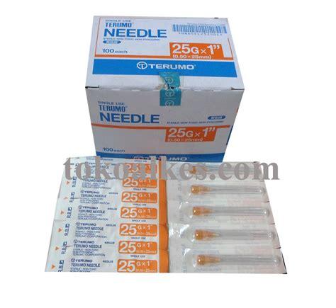 Needle Terumo Terumo Needle Jarum Terumo No 18 G 30 G 3 fungsi needle jarum suntik tokoalkes