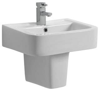 bathroom sinks montreal montreal basin semi pedestal small contemporary