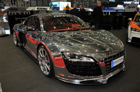 audi r8 modified audi r8 by mtm a silver audi r8 modified by mtm and