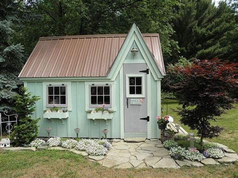 play cottage 13 shed transformations that ll make your neighbors jealous