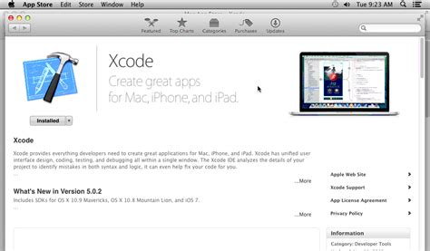 xcode qt tutorial steps to develop iphone application and become an ios app