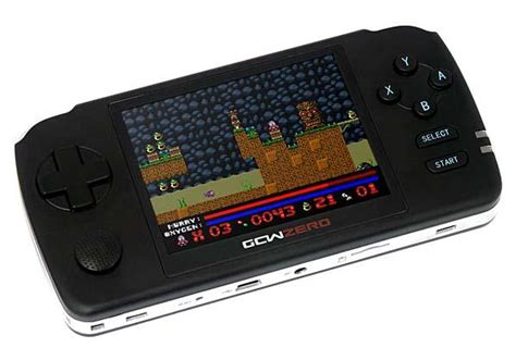 open source handheld console gcw zero open source handheld gaming console gadgetsin