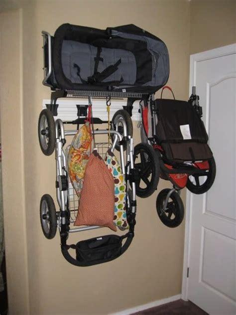 Garage Organization Hanging 25 Best Ideas About Stroller Storage On Home