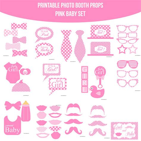 baby shower photo booth templates free printable baby shower photo booth props search