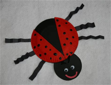Ladybug Paper Plate Craft - the gallery for gt paper plate crafts for