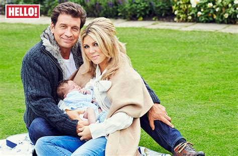 nick knowles and his wife jessica introduce their son eddie