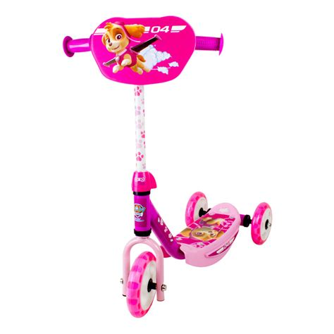 Paw Patrol Three Wheel Scooter With Adjustable