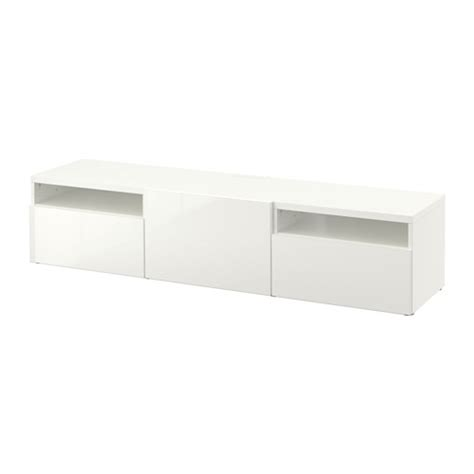 white gloss tv bench best 197 tv bench white selsviken high gloss white 180x40x38