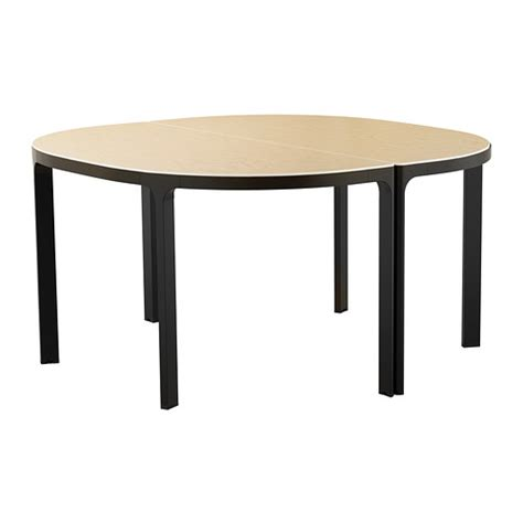 Ikea Meeting Table Bekant Conference Table Birch Black Ikea
