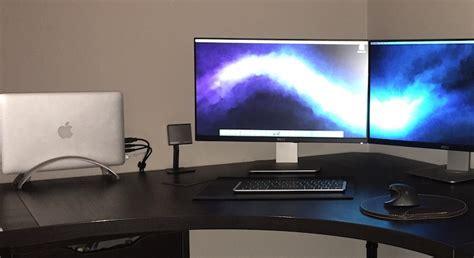 mac setup macbook pro  twin  displays