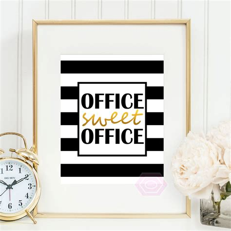 cute office decor office sweet office printable art cute office decor faux