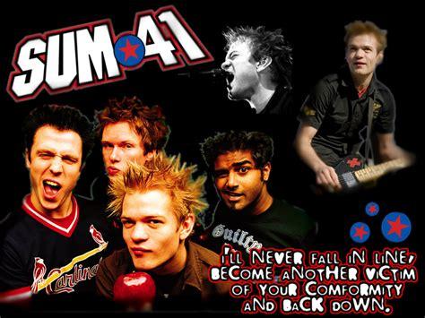 Best Band Sum 41 1440x900 Sum 41 Wallpaper By Beth182 On Deviantart