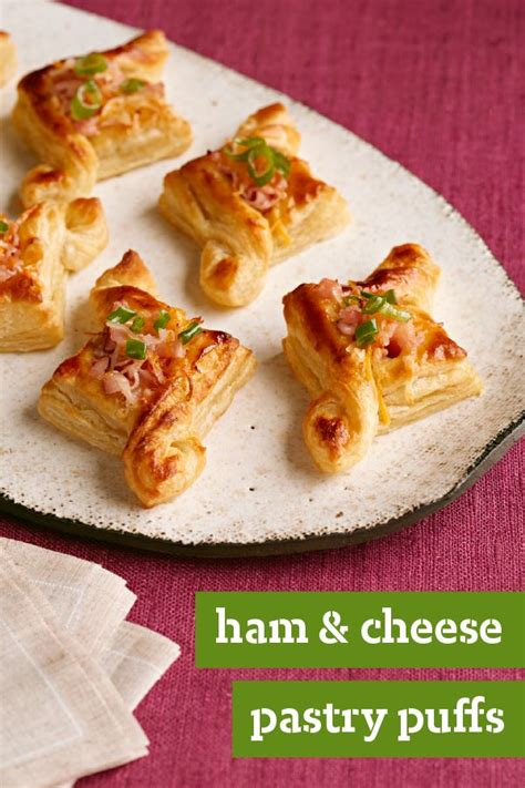 ham and cheese puff pastry pie recipe dishmaps