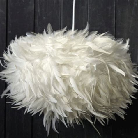 feather light shade feather lamp ceiling light shades