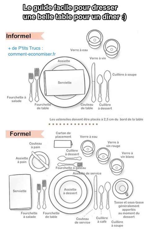 Dresser Une Table by Comment Dresser Une Table Pour Un D 238 Ner Le Guide