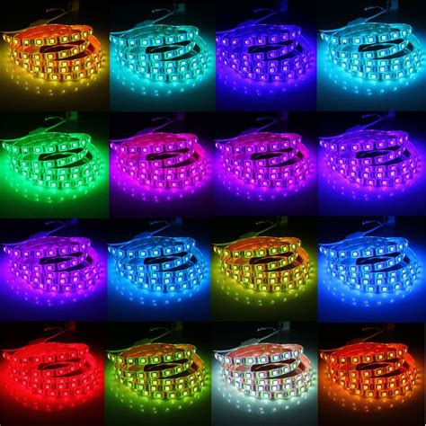 Lu Led 5050 Rgb 16 Colors 2m With Remote Multi Colo lu led 5050 rgb 16 colors 2m with remote multi color jakartanotebook