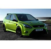 Ford Focus MK2 RS In Ultimate Green The Late Evening Sun Down By