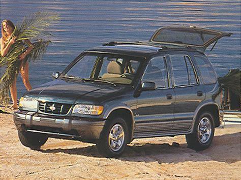 1998 Kia Sportage Review 1998 Kia Sportage Overview Cars