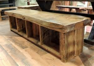36 Inch Entryway Bench Barnwood Dining Room Furniture Rustic Dining Benches