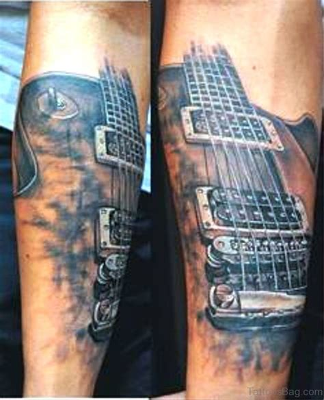 tattoo guitar hand 71 splendid guitar tattoos on forearm