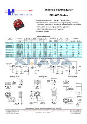 electronicon capacitor datasheet lm259x l39 datasheet surface mount 6 images lm259x l39 datasheet pdf pca electronics inc