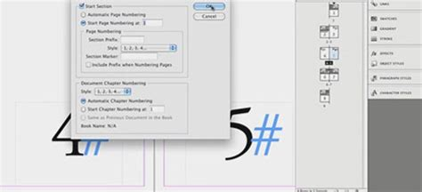 indesign creating page numbers 30 useful adobe indesign tutorials to learn in 2013