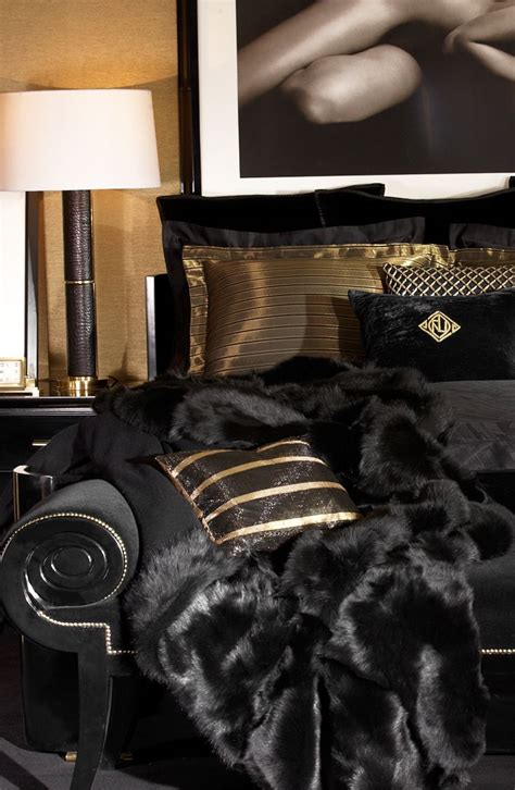 black and gold themed bedroom black and gold bedroom decorating ideas 2 the minimalist nyc