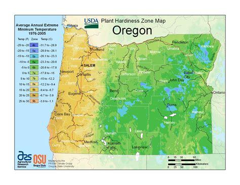 garden zones oregon plant hardiness zones the how do gardener