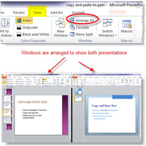 auto layout powerpoint 2010 how to copy powerpoint 2010 slides to another presentation