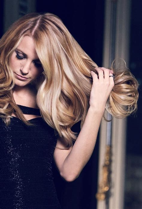 loreal virtual hairstyles blake lively blonde is our kind of blonde find your