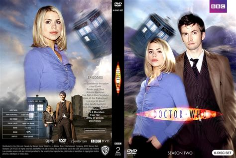 Doctor Who Season Two The Review by Doctor Who Season Two Tv Dvd Custom Covers Dw 2