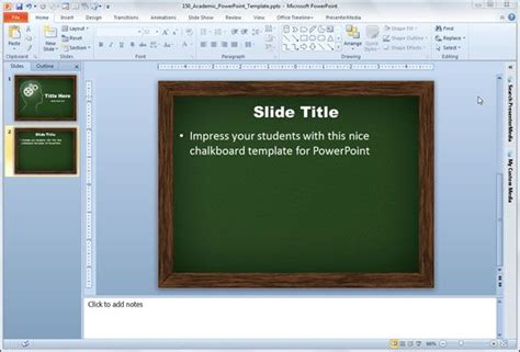 Academic Powerpoint Template Academic Presentation Powerpoint Template