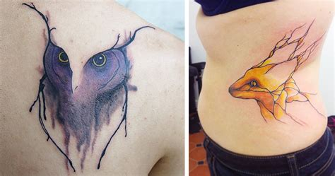 bored panda tattoo artist nature inspired tattoos that flow like veins bored panda
