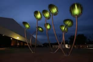 tree lights solar mph architects solar trees