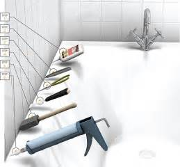 How To Re Caulk Bathtub How To Remove Caulk In 6 Easy Steps