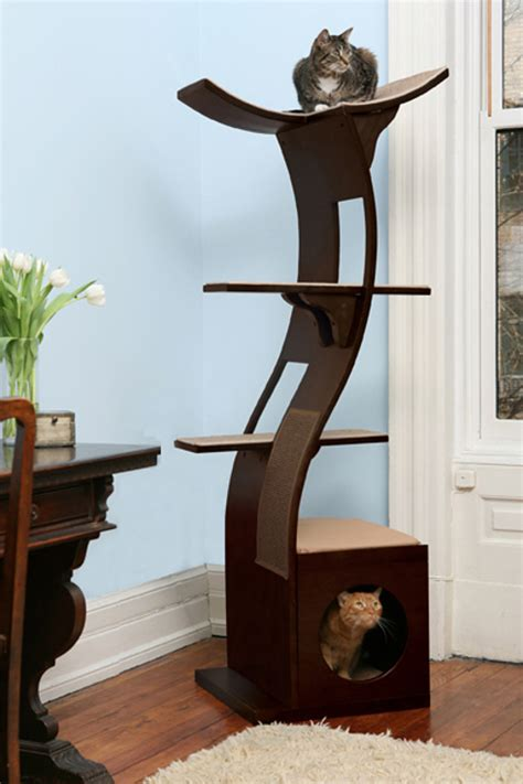 Modern Cat Tree 36 pieces of mod pet furniture nicer than your actual