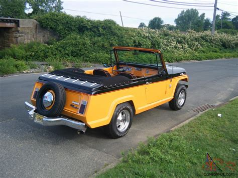 custom convertible jeep jeepster autos post