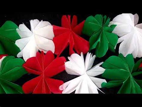 cadenas de flores de papel crepe como hacer cadenas con papel crepe doovi