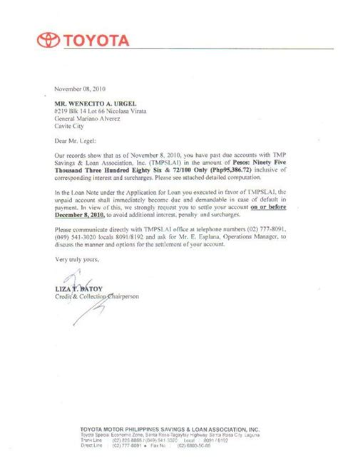 Letter Of Intent Template Philippines Application Letter For Dealership Sle