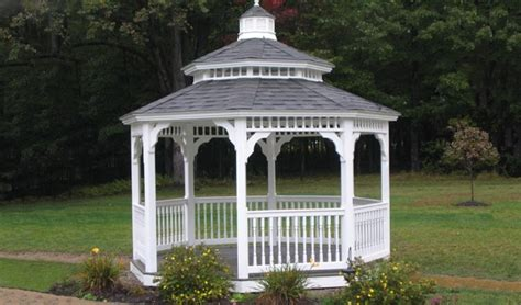 replay gazebo octagon vinyl gazebos