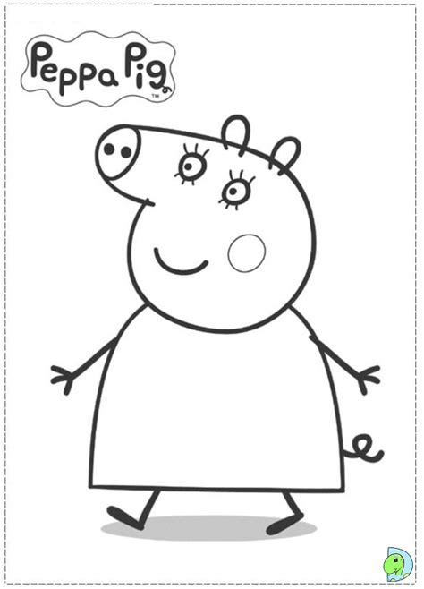 peppa pig thanksgiving coloring pages peppa pig sugar colouring pages page 2