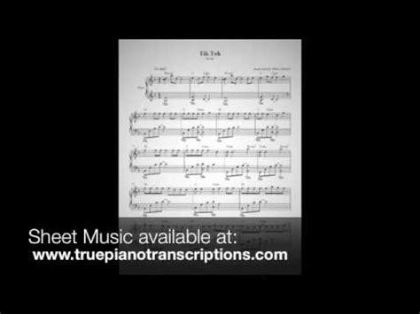 tik tok piano tutorial tik tok kesha piano solo youtube