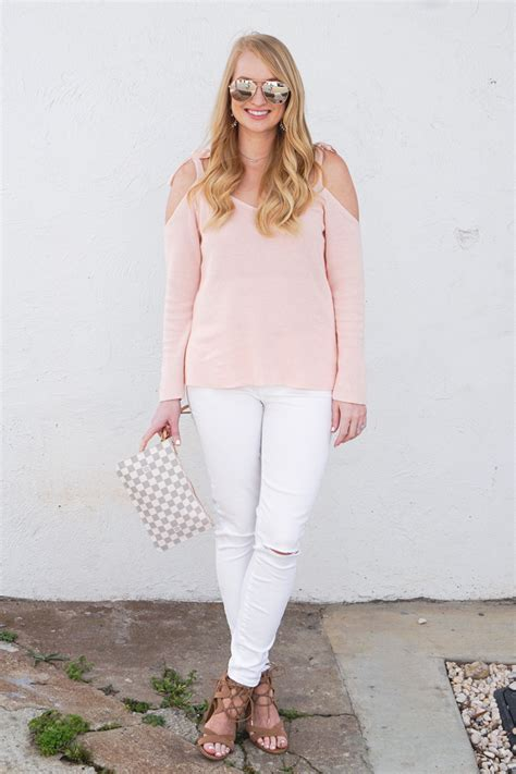Hq 11428 Bow Shoulder Top 2 bow sweater strawberry chic