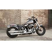 2014 Softail Slim Harleys New Solo Bobber  Autoevolution